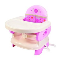 Summer Infant Deluxe Confort Plegable Asiento Elevador Rosa