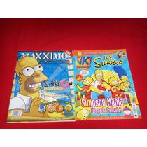 Los Simpson - Lote De 2 Revistas Edicion Especial Vbf