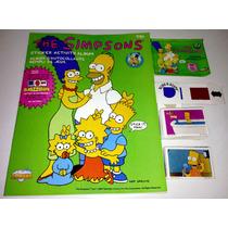 Simpsons Stickers & Activity Album 3d Diamond Usa 1990 - Hm4