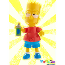 Bart Simpson Figura Parlante Coleccionable Edición 25 Años