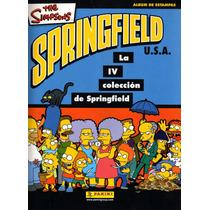 Simpsons Album 4a Colección En Español Panini 2001 - Hm4