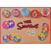 Tazos Los Simpsons 1995 / 2006 / 2012 Lote De 56 Tazos B