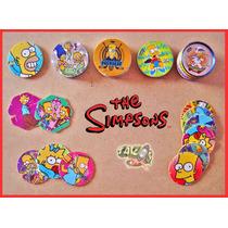 Tazos Los Simpsons 1995 / 2006 / 2012 Lote De 56 Tazos A