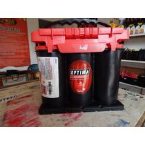 Bateria De Gel Optima Tapa Roja Tipo 35 Redtop