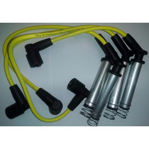 Cables De Bujia Para Chevy Corsa Y Tornado Amarillo 7 Mm Usa