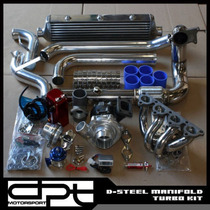 Turbo Kit T4 P/ Civic 88-04 D16 B18 B20 K20