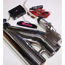 Escape Electrico Cut Out Electronico Control Remoto Downpipe