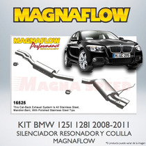 Kit Magnaflow Bmw 128i 125i + Colillas Magnaflow Mofle Depor