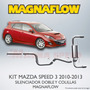Kit Magnaflow Mazda Speed 3 2010 - 2013 Con Installation