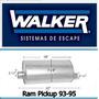 Mofle Silenciador Ram Pickup 93-95 Walker Quietflow 21047