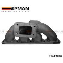Cast Iron Turbo Manifold Honda B16 B18b Series T3 Flange