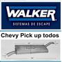 Silenciador Chevy Pick Up Todos Walker Sound Fx # 10066