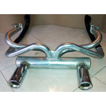 Kit Headers Silenciador Vocho Escape Mofle 2 Sal. Miller
