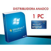 Windows 7 Pro Sp1 32-64 Bits Spanish