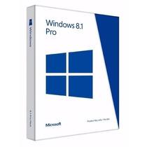 Windows 8.1 Pro Licencia Original 32/64 Bit Para 1 Pc