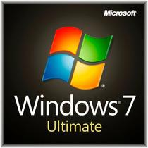 Windows 7 Ultimate Sp1 Licencia Original 32/64 Bits