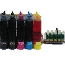 Sistema De Tinta Continua Dye P/ Epson Stylus T1110 103