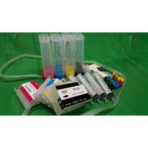 Sistema Tinta Continua Para Hp 950 951 Hp 8610 8620 Con Chip