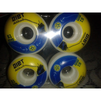 Llantas Diet 51mm Para Patineta Skateboards