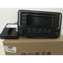 Estereo Vw Vento Polo Golf Rcn210 Módulo Cambus Bluetooth