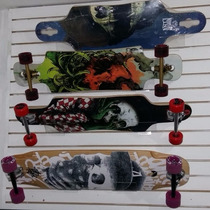 Patineta Antifashion Longboard Ii Completa