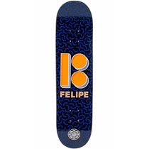 Plan B Felipe Shapes Skateboard Deck - 7.625