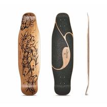 Tb Skateboard Loadedboards Poke Longboard ~blem Deck Only~