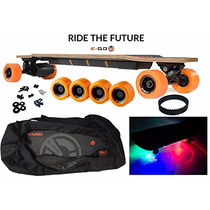 Patineta Yuneec E-go Cruiser Electric Skateboard Pro Pkg. 3
