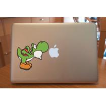 Macbook Laptop Sticker Yoshi Mario Bros