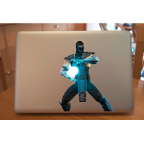 Macbook Laptop Sticker Sub Zero Mortal Kombat