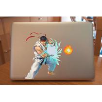Ryu Street Fighter Laptop Macbook Sticker