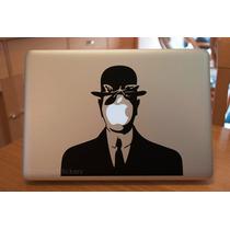 El Hijo Del Hombre René Magritte Sticker Macbook