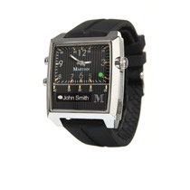 Martian Watches Passport Smartwatch Negro Con Plata