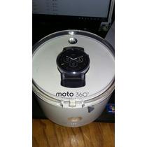 Moto 360 2da Generacion 46mm Plata Negro