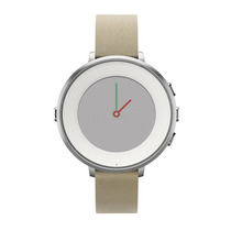 Reloj Pebble Time Round 14 Mm Smartwatch Apple Android -gris