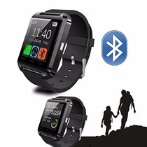 Reloj Inteligente U8 Negro Y Blanco Smart Watch Android