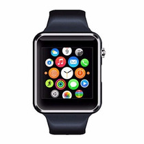 Smartwatch Touch Reloj Celular Iwatch A1 Bluetooth Camara