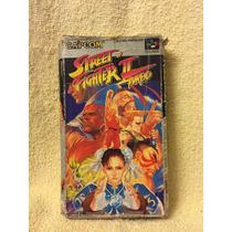 Street Fighter 2 Turbo Caja Super Famicon