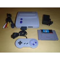Super Nintendo Slim Completo, 1 Control Y Super Mario World