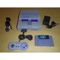 Super Nintendo Completo, 1 Control Con Super Mario World Er2