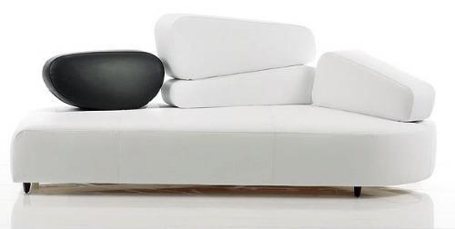 Sofa Lounge Puff Minimalista Salas