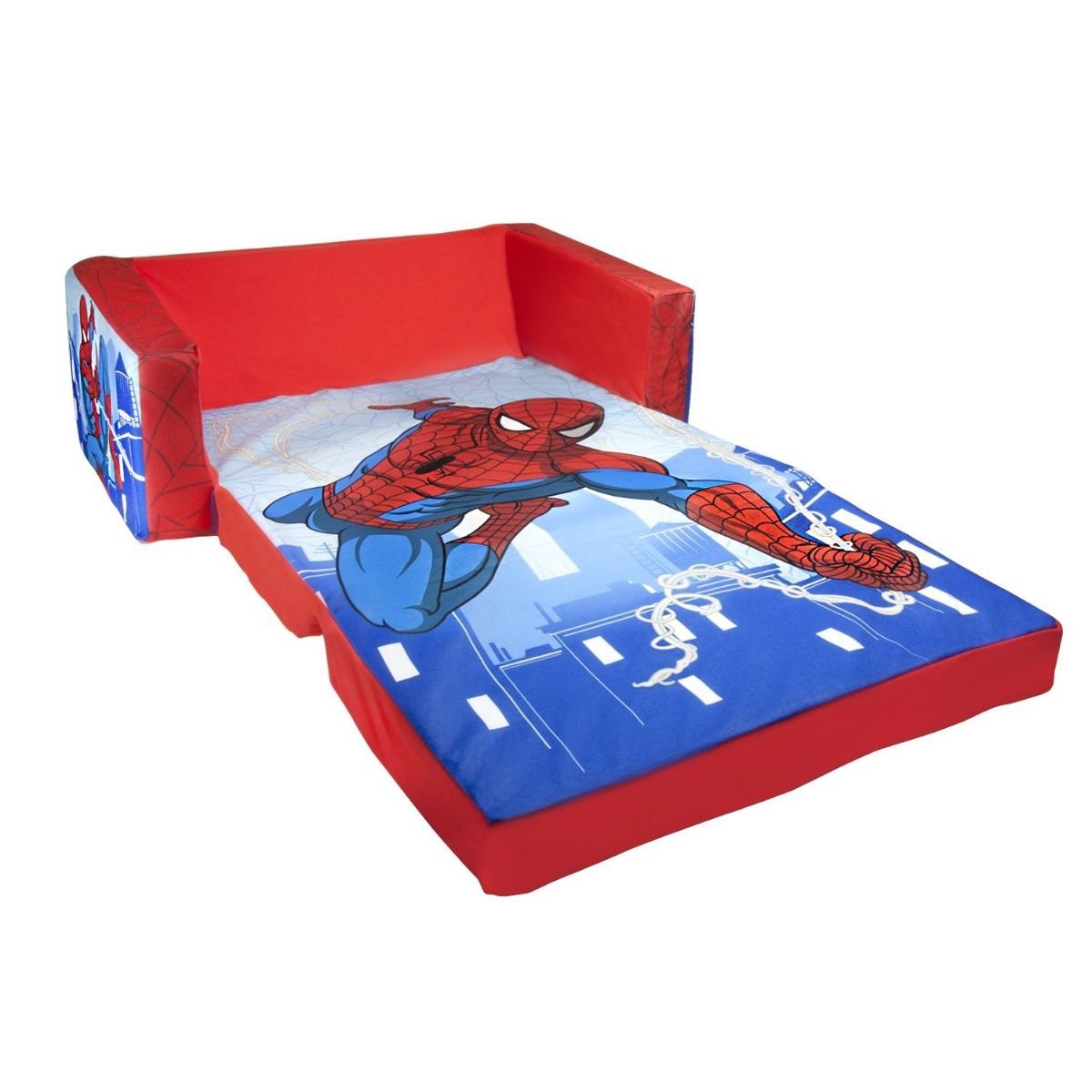 Sofacama sillon para ninos bebe plaza sesamo elmo spider for Sillon sofa cama 1 plaza mercadolibre