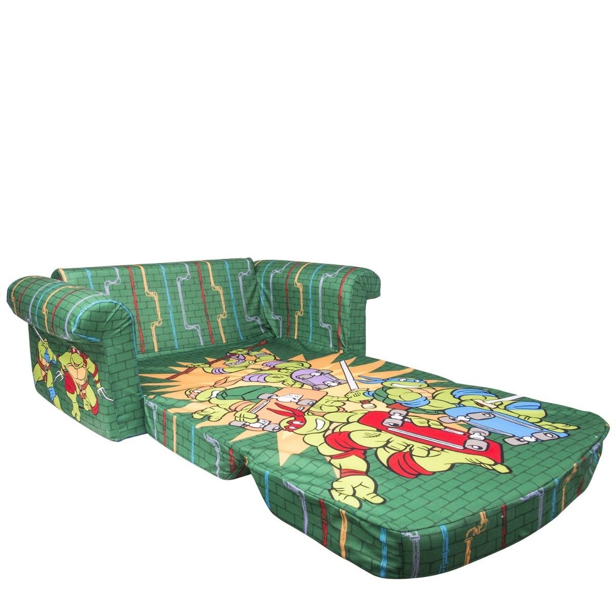 Sofacama sillon para ninos paw patrol tortugas ninja hello for Sillon cama para ninos