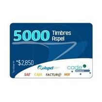 Aspel 5000 Timbres (para Facture, Caja, Sae O Noi)