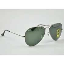Ray Ban Rb 3025 Gunmetal Armazon Mediano 58 Mm