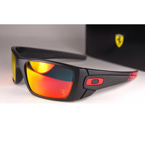 Oakley Ferrari Fuel Cell Matte Black - Ruby Iridium