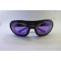 Lentes Goggles Miopia Polarized Morado No Graduados
