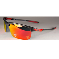 Oakley Ferrari Carbon Blade Carbon / Ruby Iridium Polarized