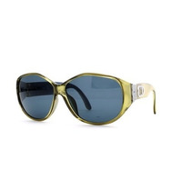 Gafas Christian Dior Verde Auténtico Vintage Mujer Gafas D