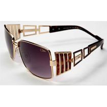 Lentes De Sol Cazal Limited 9031 003 Gold & Tortoise
